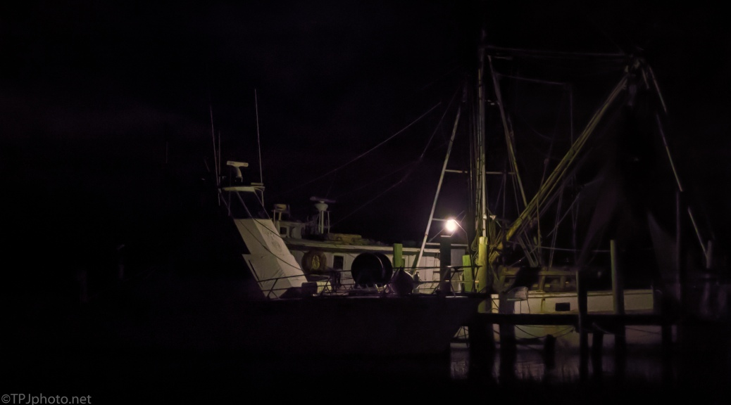 Shrimp Boats Tied Up