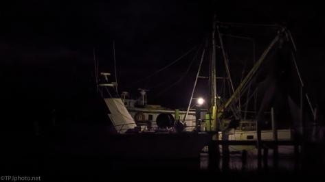 Shrimp Boats Tied Up