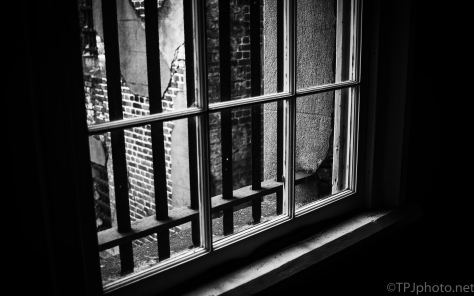 Old Jail Building Bars - click to enlarge