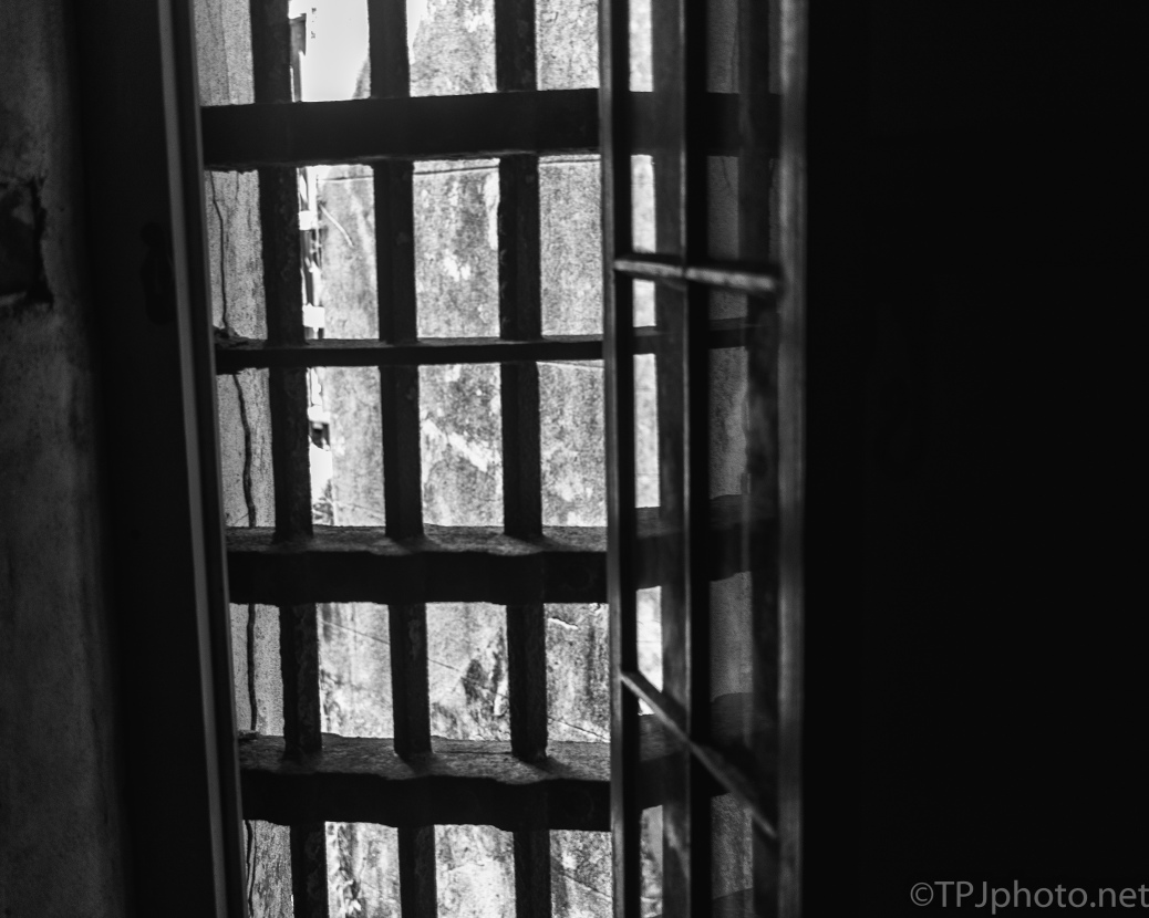 From The Inside, 1800's Jail - click to enlarge