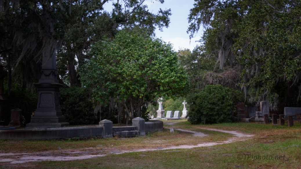 From A Walk, Cemetery - click to enlarge