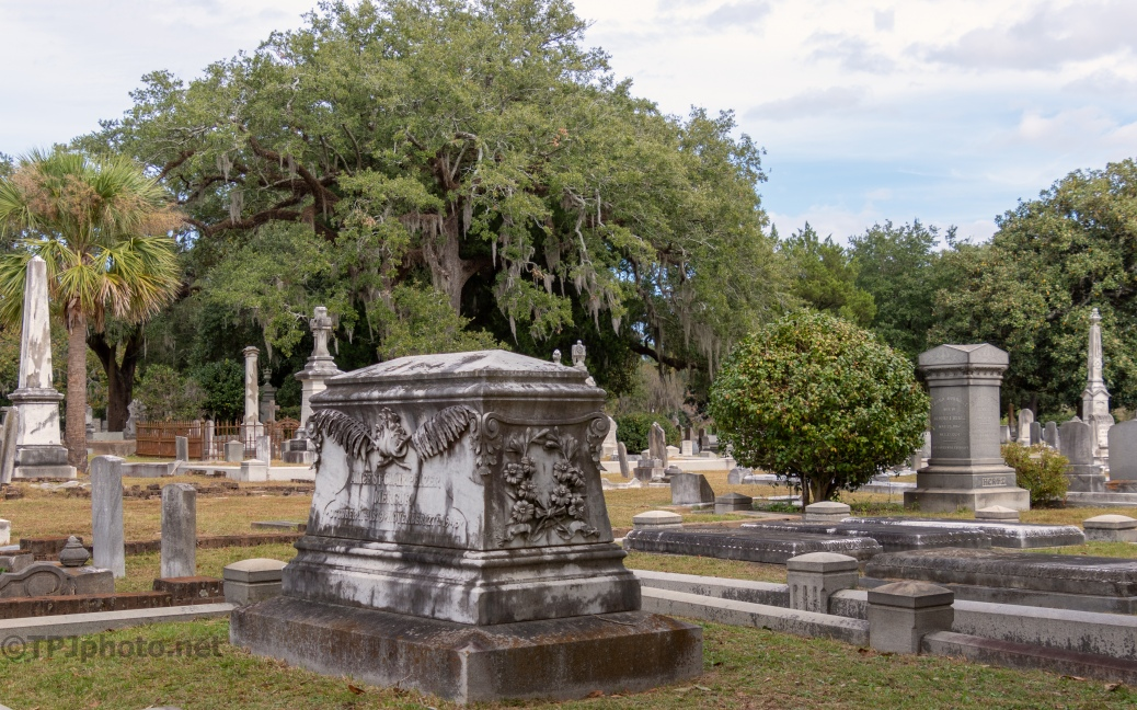 From A Walk, Old Cemetery - click to enlarge