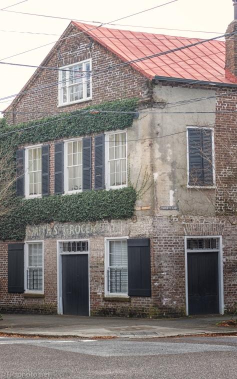 Ghost Signs, Elizabeth Street, Charleston - click to enlarge
