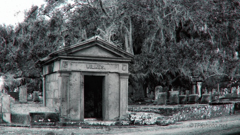 Old Cemetery, Old (kinda) Photograph