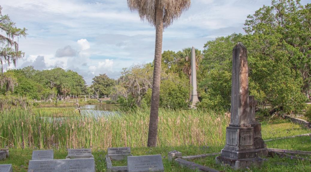 Magnolia Cemetery, Along The Marsh