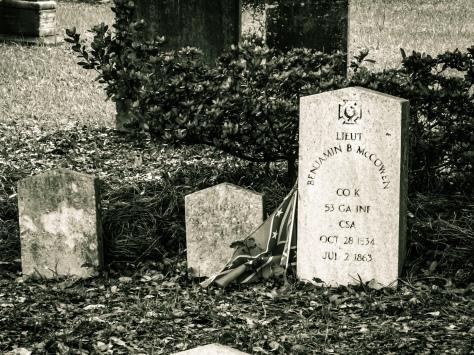 Lt. McCowen 53 Ga. Inf. Gettysburg