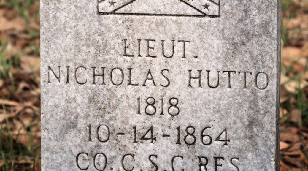 Lt. Hutto, 1864
