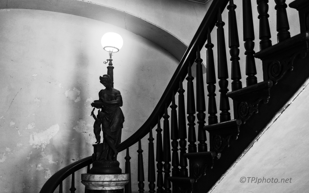 1820, Lighting The Stairs