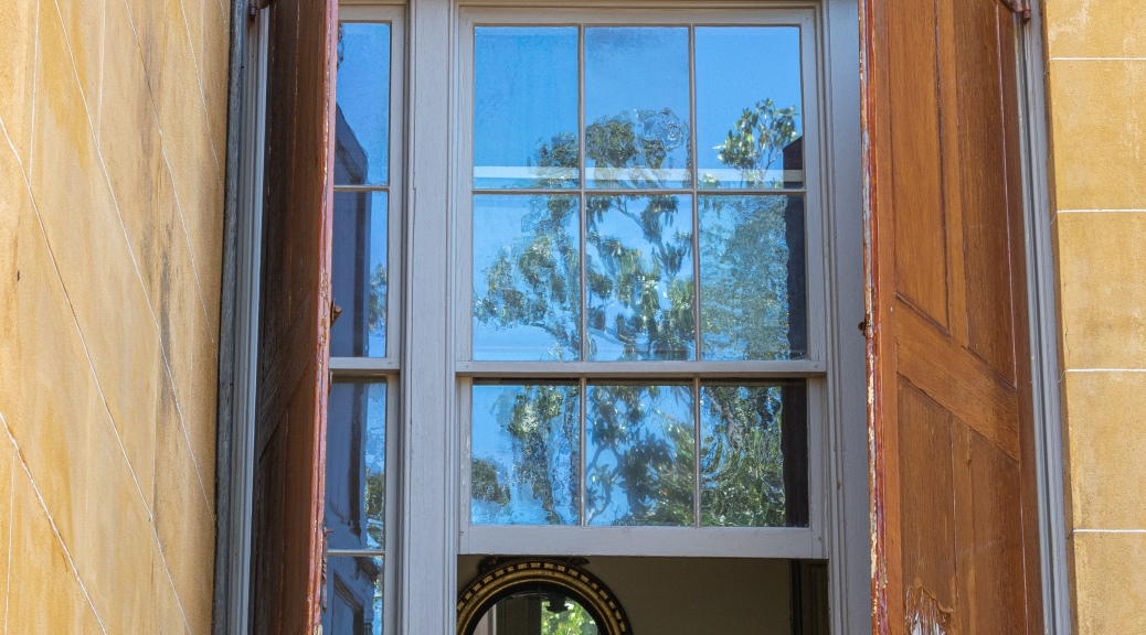 Charleston Windows Have Character