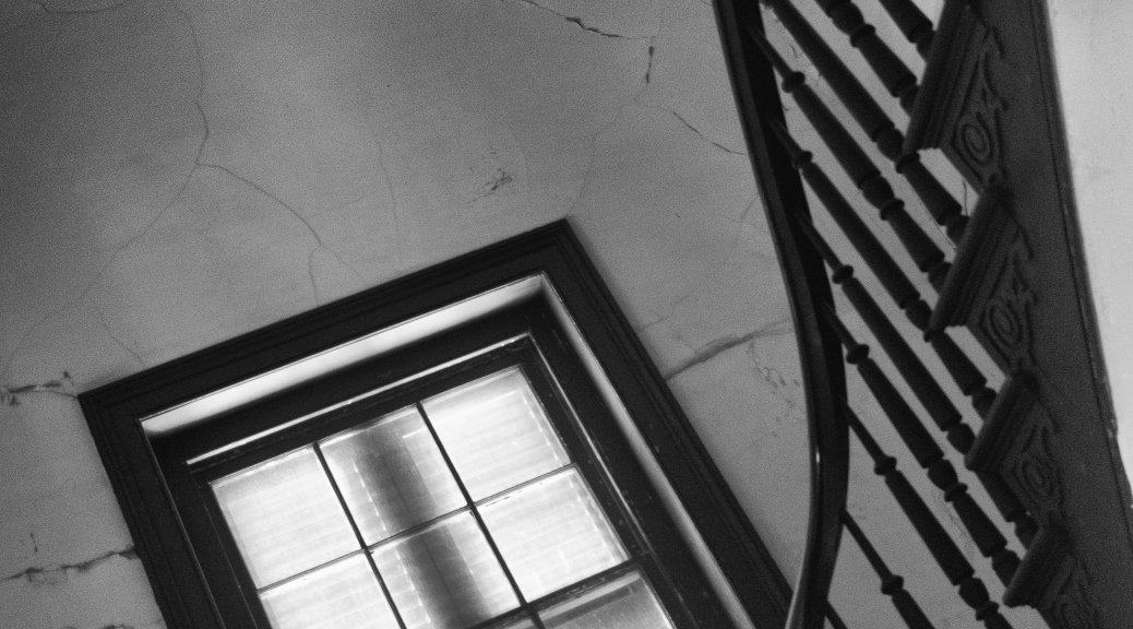Wandering Up Old Stairs / Black And White