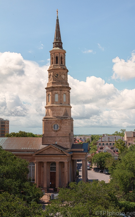 Charleston Rooftops, A Sunny Day