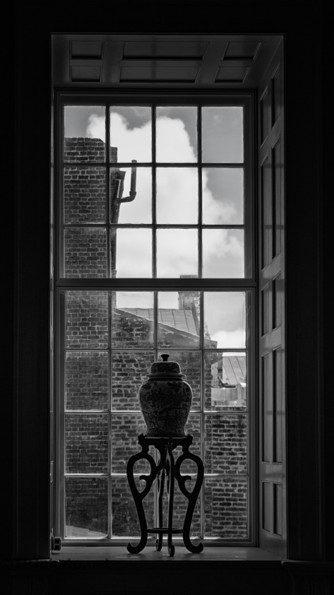 Staircase Window, Charleston, South Carolina