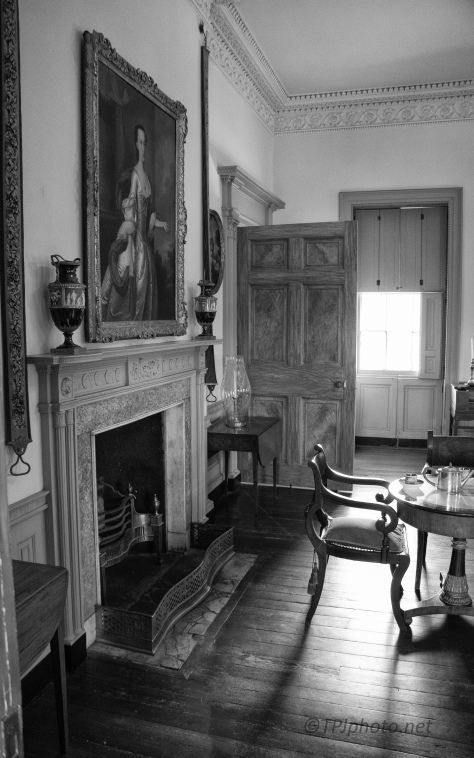 Grand Old House, Monochrome