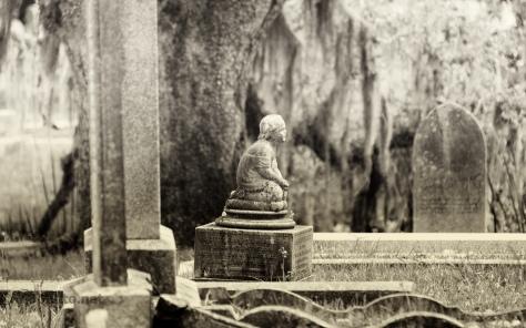 Cemetery, Sepia