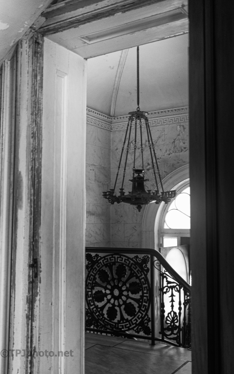 An Old Grand House, B&W