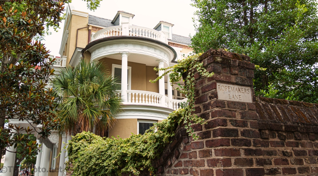 Ropemakers Lane, Charleston, South Carolina.