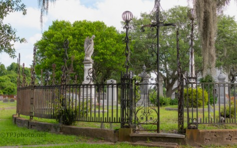 Inside Bethany Cemetery