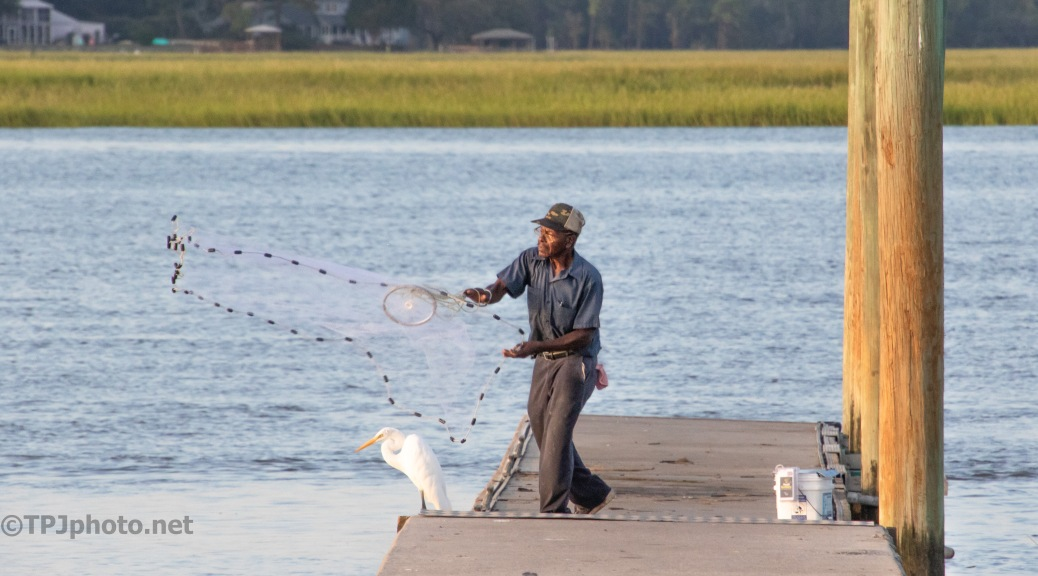 Fishing With A Cast Net