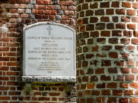 Prince William's Parish Church, Sheldon Ruins