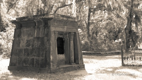 Old Family Burial Site, Monochrome