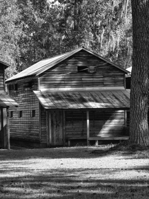 Shadows, Texture, A Cabin