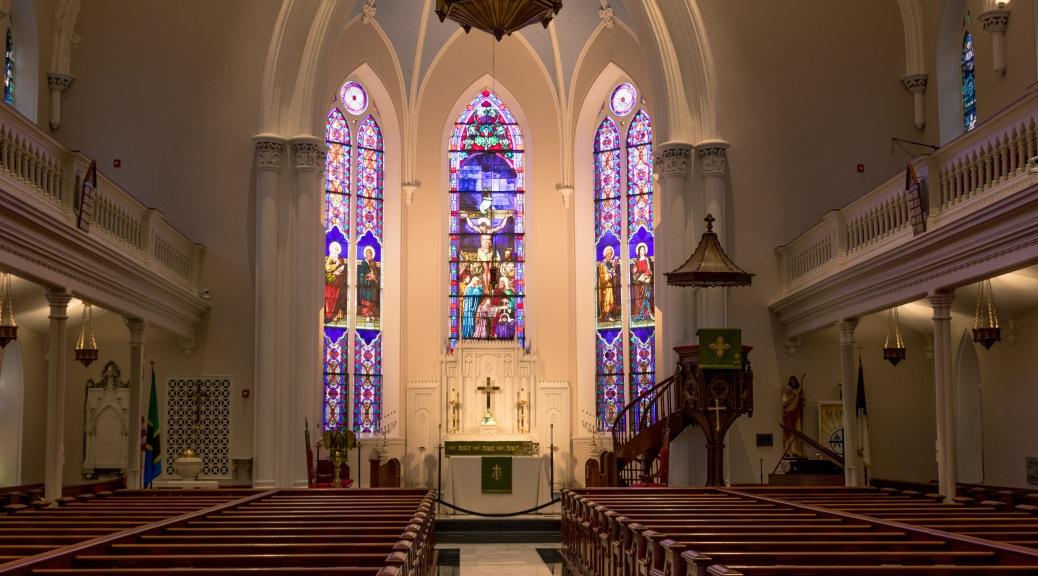 View Of A Charleston Church