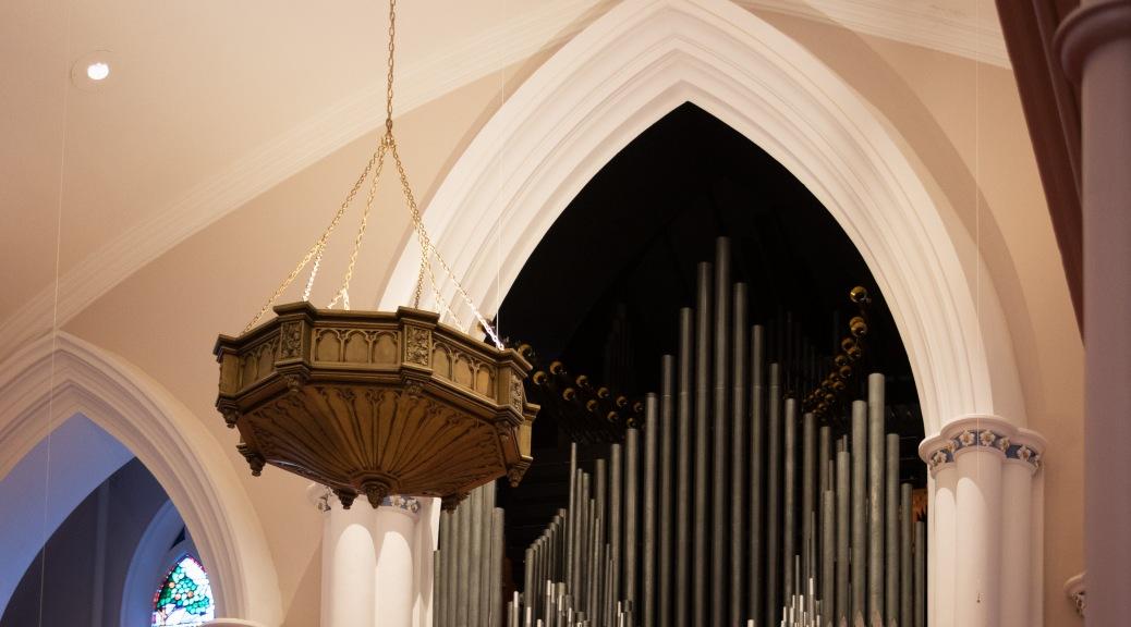 Pipe Organ, Charleston, South Carolina