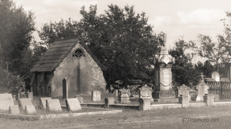 Black And White, Old Cemetery