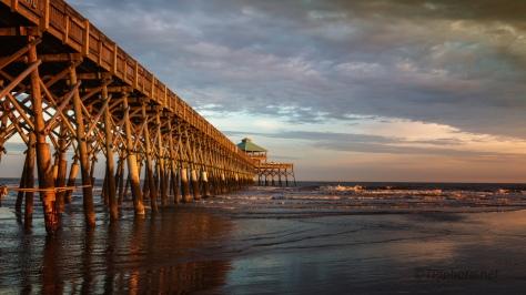 Sunset Folly Beach, South Carolina