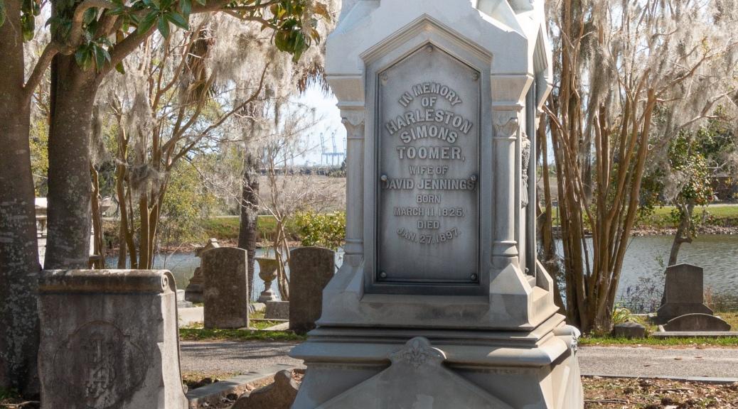 Jennings Zinc Monument - 1884