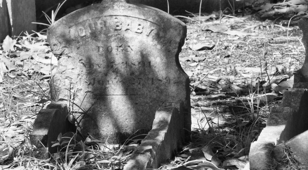 Corner Of A Grave Site