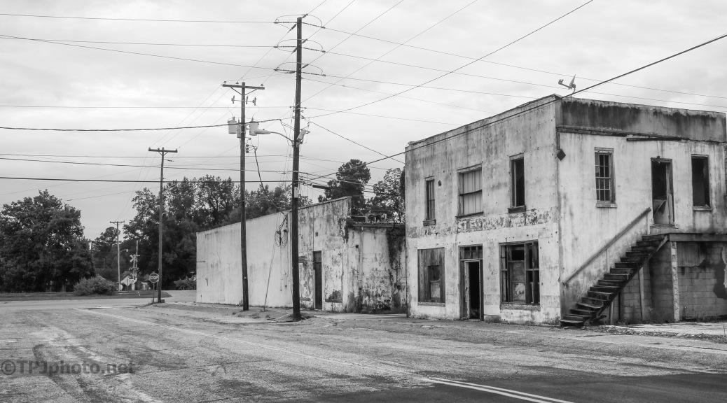 Railroad Crossing, Main Street