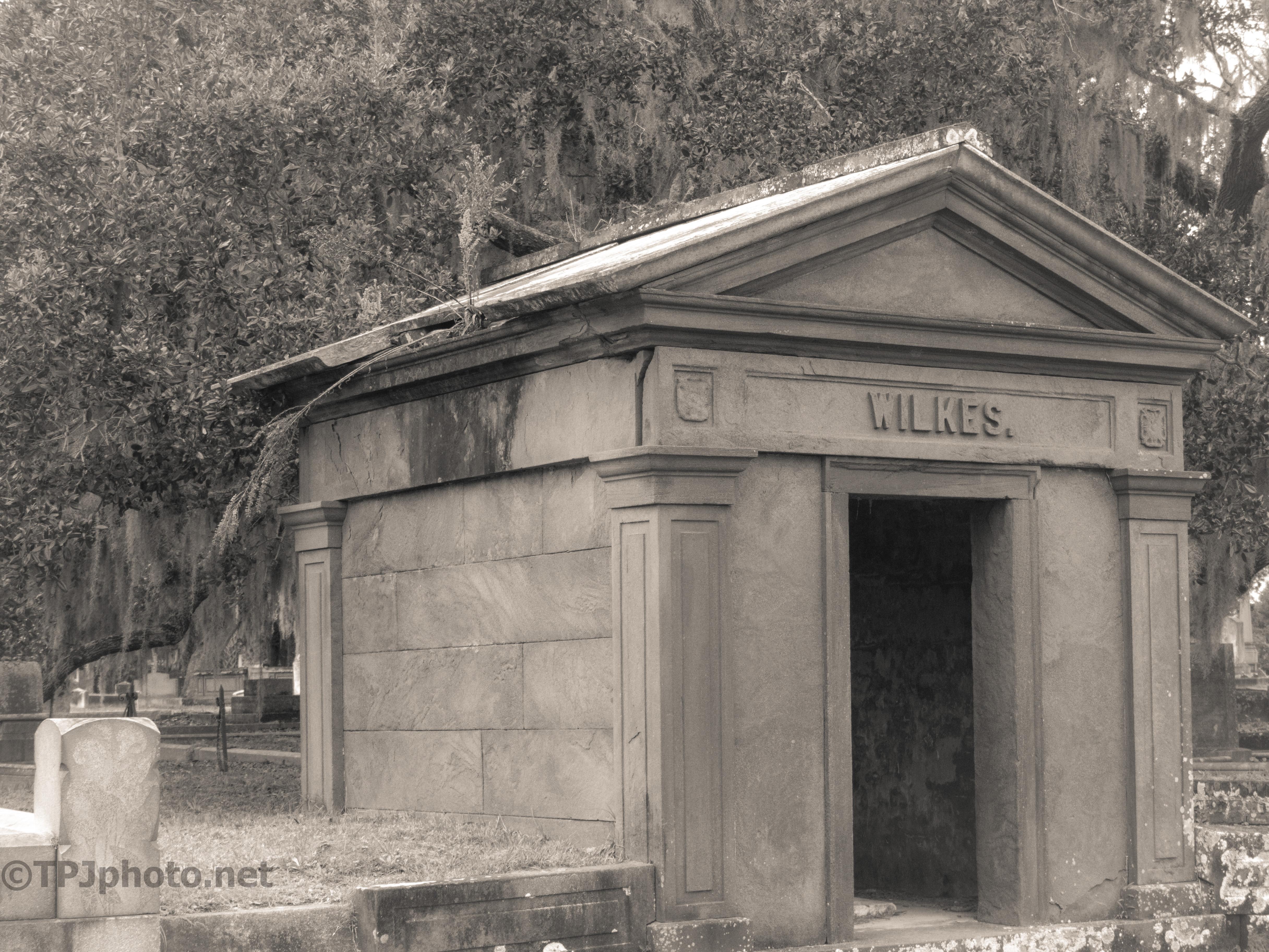 Old Abandon Mausoleum
